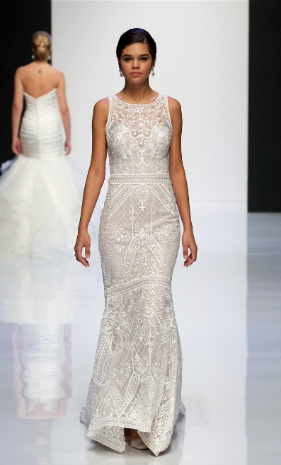 Allure Bridals Catwalk at LBFW 2019