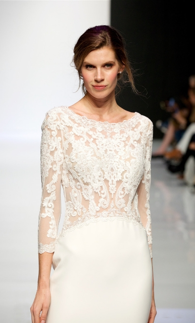 Modeca's fashion show at London Bridal Fashion Week 2019