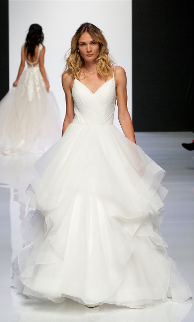 Morilee's fashion show at London Bridal Fashion Week 2019