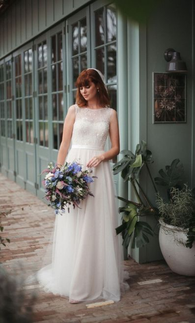 Fleur gown from Wendy Makin's latest collection