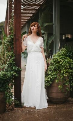 Magnolia gown from Wendy Makin's latest collection