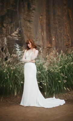 Marguerit gown from Wendy Makin's latest collection