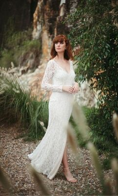 Mimosa gown from Wendy Makin's latest collection