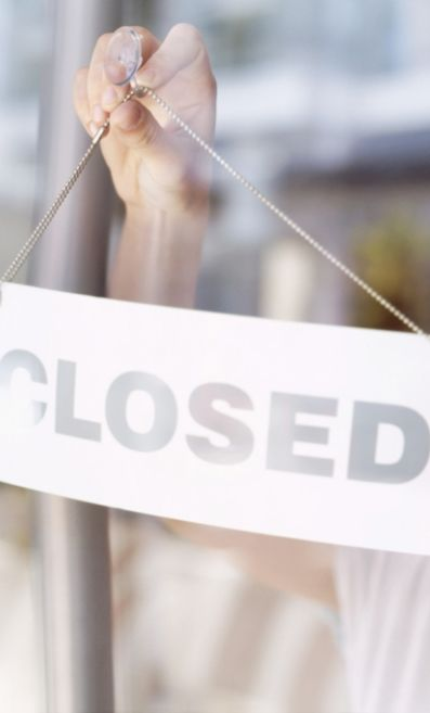 How to Deal With The Sudden Closure of a Bridal Boutique