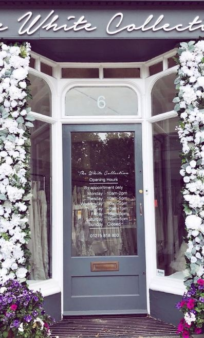 Summer Window Display by The White Collection