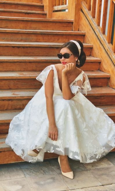 Destination Wedding Dress by House of Mooshki