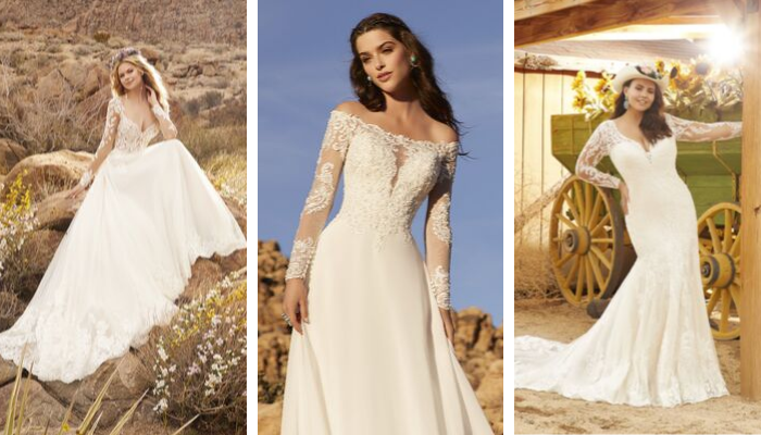 Morilee: Top 3 Wedding Dresses With Sleeves