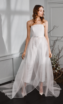 Christian Organza Skirt