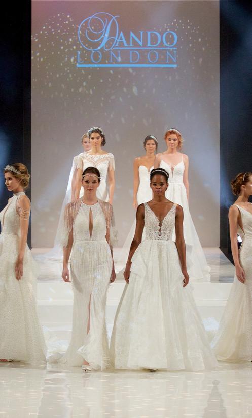 Watch: Dando London's Fashion Show at The Harrogate Bridal Show