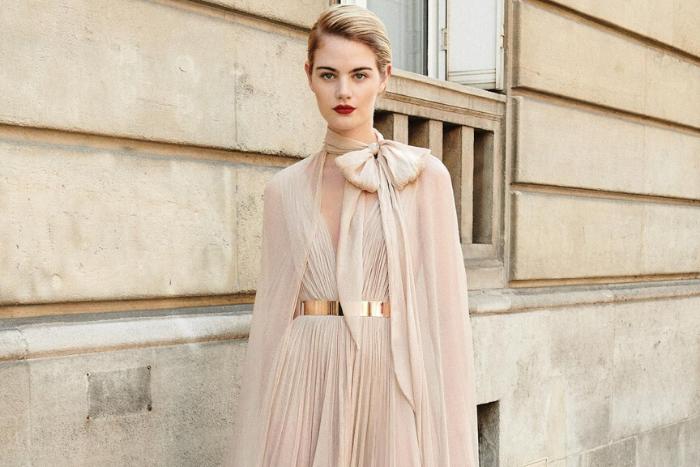 Galia Lahav Designs Wedding Dress for Izabella Scorupco