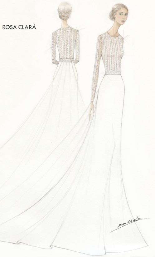 Rosa Clara Dresses Mery Perello For Her Wedding To Rafa Nadal Bridal Buyer Magazine Bridal Buyer