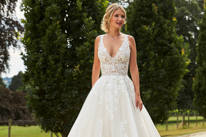 A Closer Look at This Year's Wedding Dress of the Year