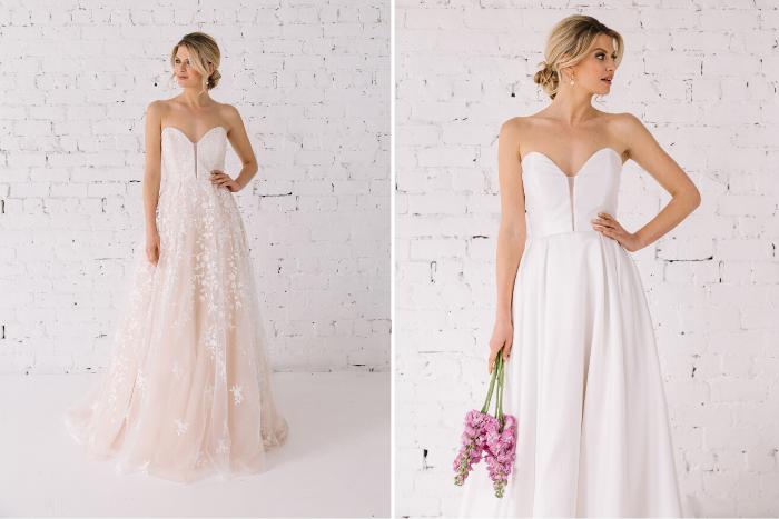 Trish Peng Designs First Reversible Wedding Dress