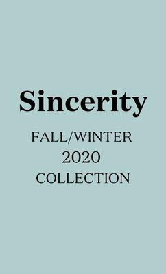 Sincerity F/W 2020
