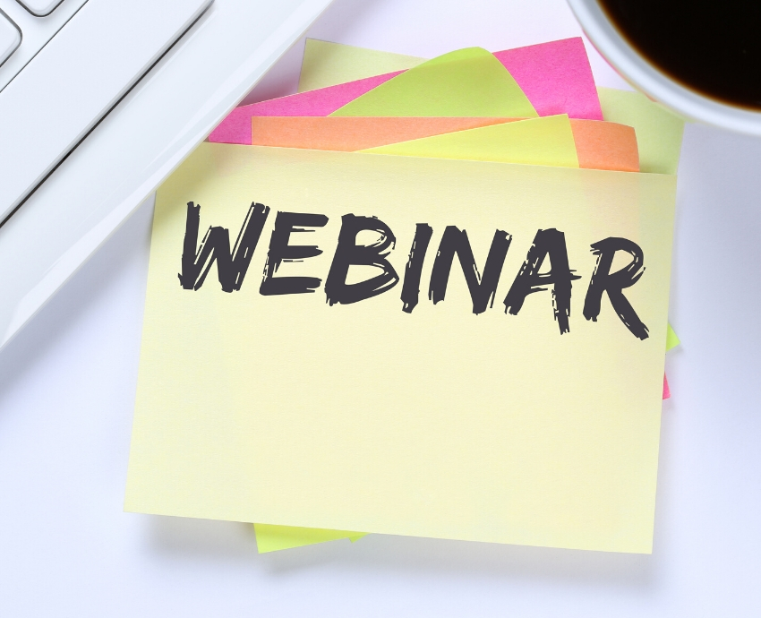 June and July webinar series announced