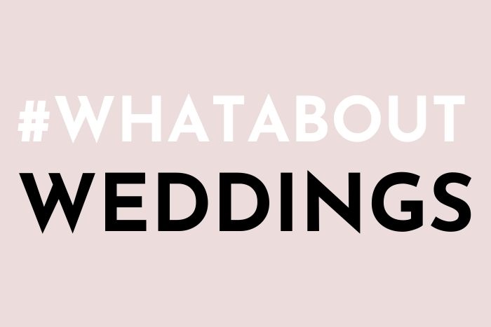 #WhatAboutWeddings Retailer Action