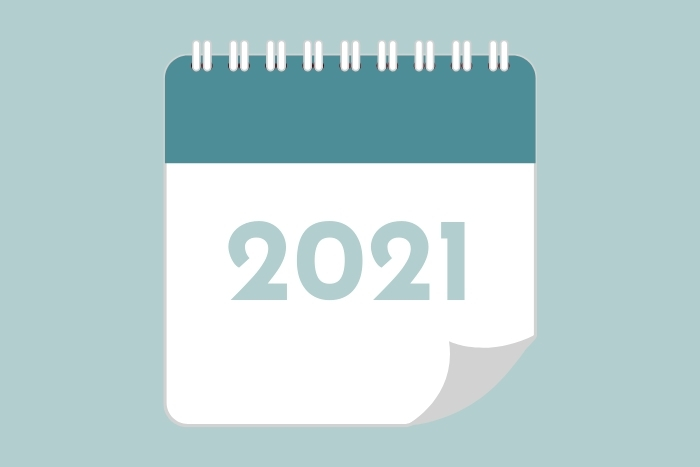 2021 dates for your diary