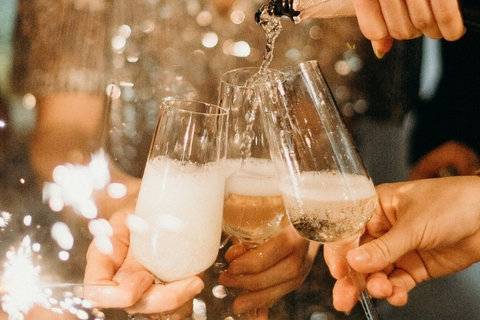 Are you breaking the law by offering brides alcohol?
