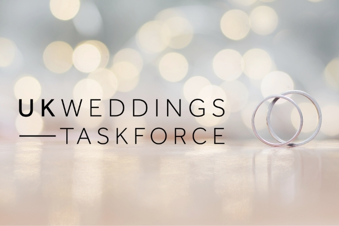 UK Weddings Taskforce ask Gov for vital support