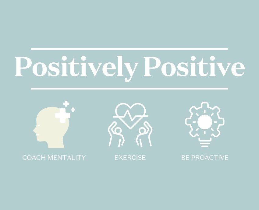 Three tools for staying positive