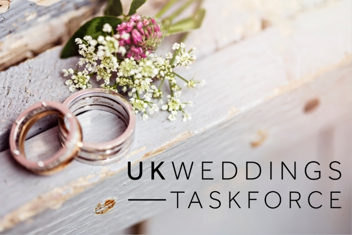Exclusive interview with the UK Weddings Taskforce