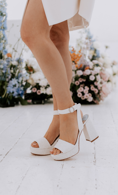 Charlotte Mills Bridal Shoes 8