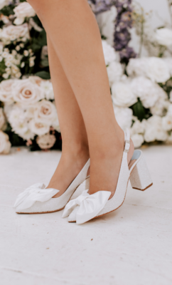Charlotte Mills Bridal Shoes 9