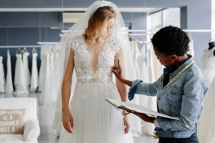 Are you offering more than just a wedding dress?